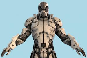 Mass Effect Robot Soldier (Male)